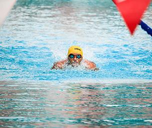 Compétition de natation à partir de 9 ans